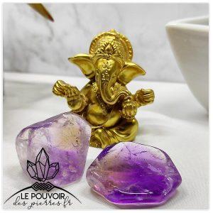 boutique lithotherapie ametrine proprietes vertus pierres naturelles bienfaits ametrine bracelet ametrine bijoux 1